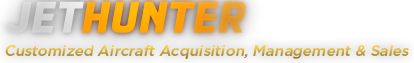 Jethunter. Customized Aircraft Acquisition, Management and Sales
